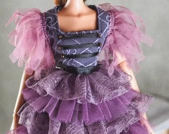 "Tonner Dejavu ,Antoinette ,ellowyne wilde 16"" doll clothes purple dress"