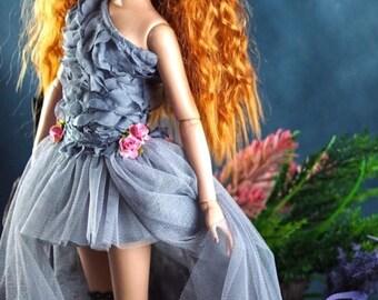 "Tonner Dejavu ,Antoinette ,ellowyne wilde 16"" doll clothes grey gray dress"
