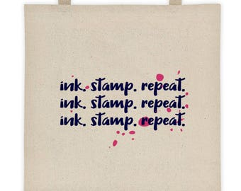Ink. Stamp. Repeat   Craft Bag   Craft Project Bag   Gift For Crafters   Craft Accessories
