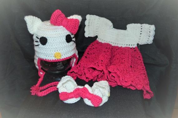 Hello Kitty Inspired Dress Mary Jane Shoes Hello Kitty Etsy