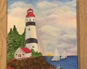 Lighthouse Watching Over Us...Safe Harbor