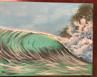 Blue Hawaiian Aqua Wave