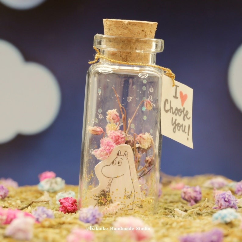 I choose you,Tiny message in a bottle,Miniatures in a bottle,Personalised Gift,birthday gift,Valentine Card,Gift for herhim,Girlfriend gift