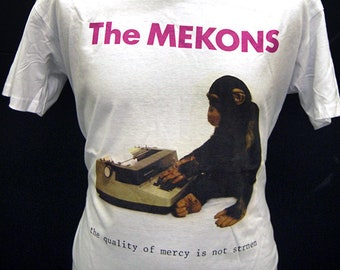 The Mekons -The Quality of Mercy Is Not Strnen - T-Shirt