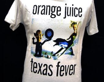 Orange Juice - Texas Fever - T-Shirt
