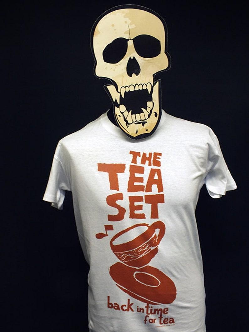 The Tea Set  Back In Time For Tea  Orange  T-Shirt image 0