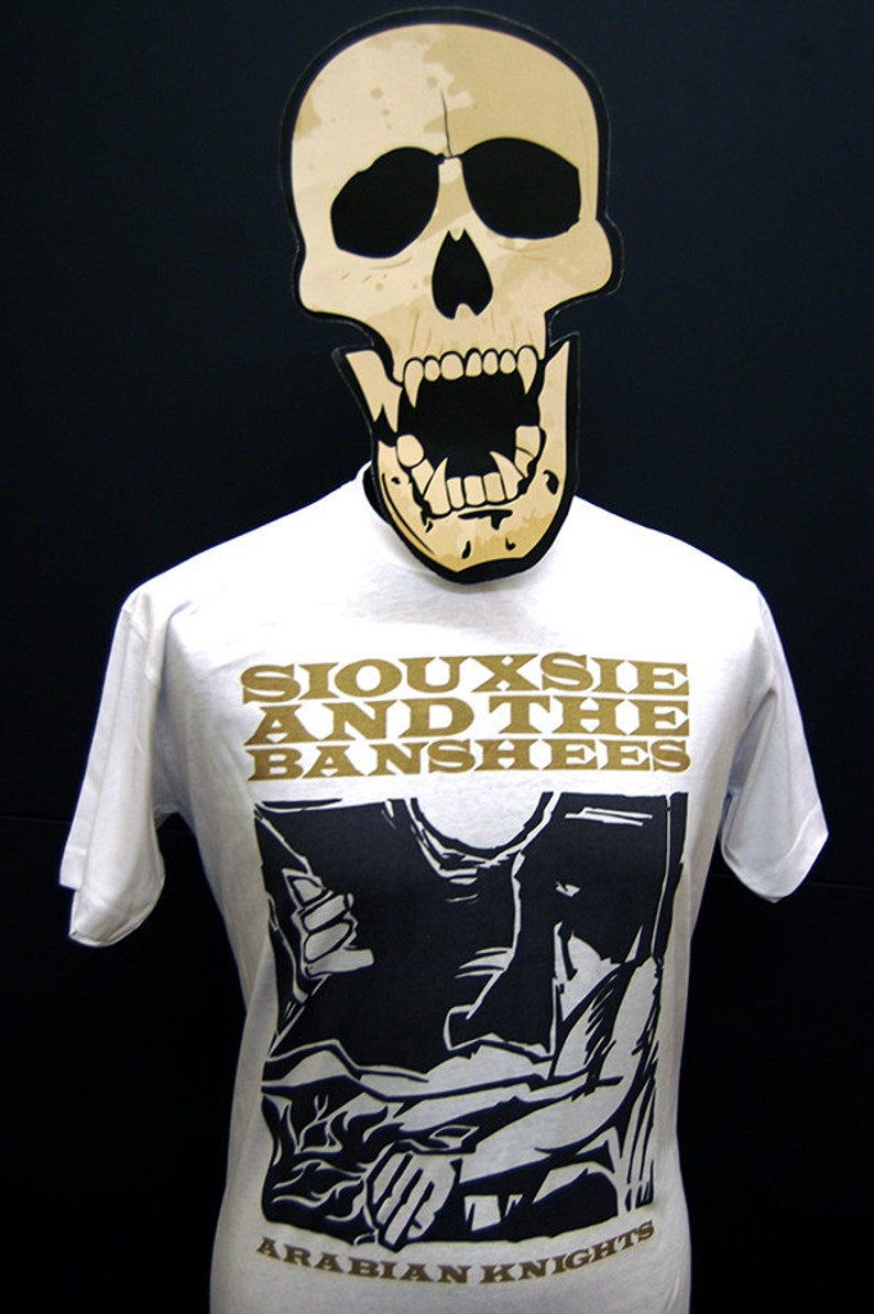 T-Shirt Siouxsie And The Banshees Arabian Knights