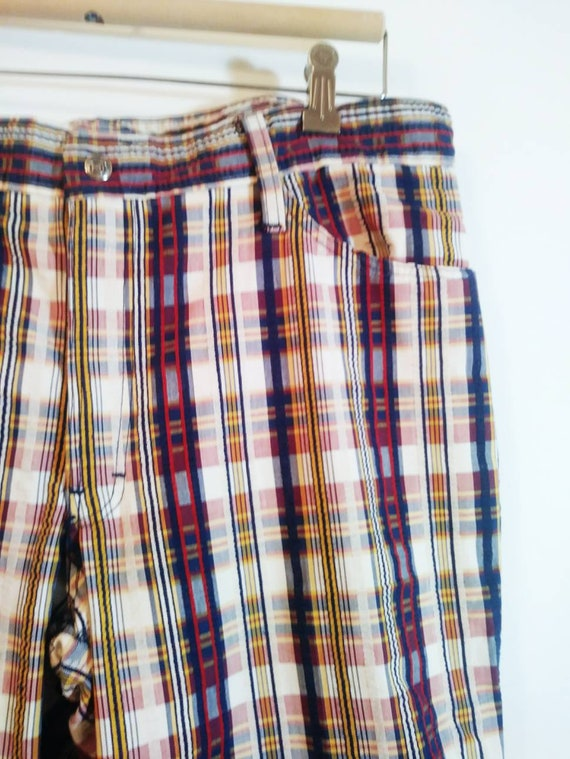 Vintage 70s bell bottom pants / 70s bell bottom p… - image 4
