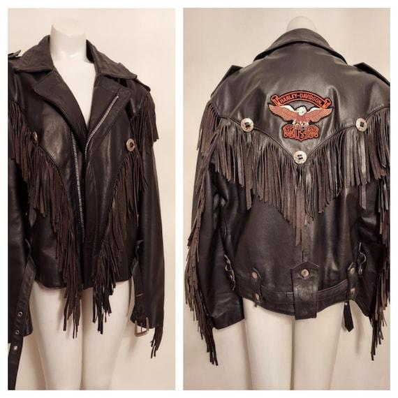 vintage Fringe leather jacket / vintage fringe ja… - image 8