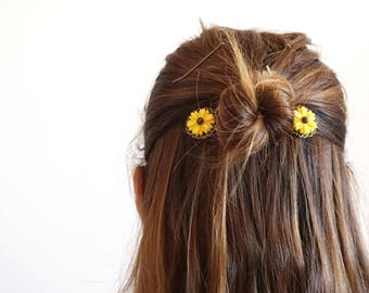 Set Of 3 Celestial Hair Pins Cute Hair Accessories For Short Etsy