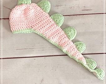Crochet Dinosaur Baby Hat, Baby Girl Dinosaur Hat, Baby Boy Dinosaur Hat, Newborn Photo Prop, Baby Shower Gift, Dinosaur Photo Prop.
