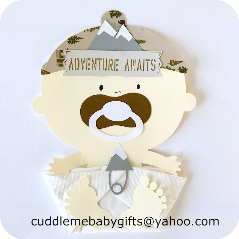 Adventure Awaits Baby Shower Decorations-Travel Baby Shower Luncheon Napkins-It/'s a Boy Baby Shower Favors.