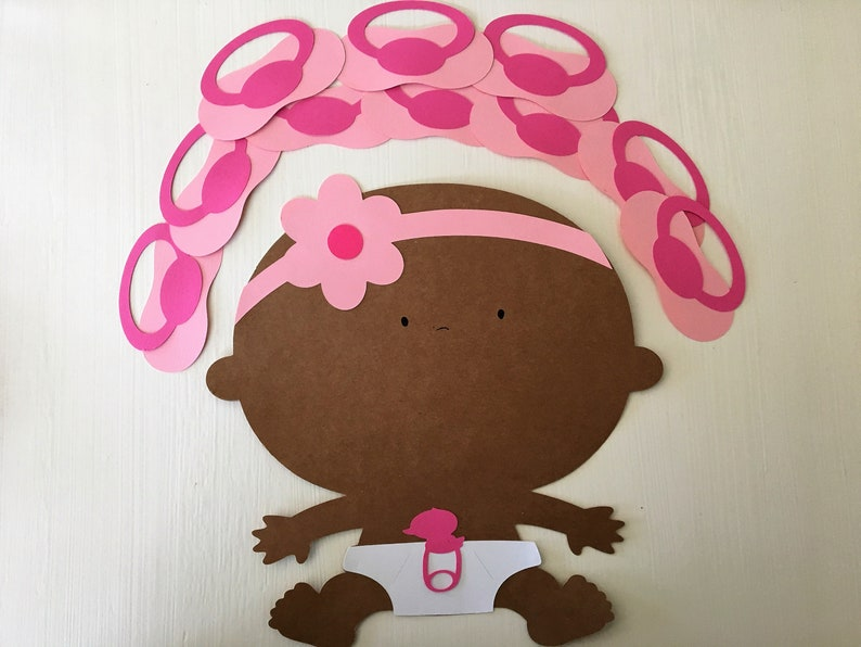 Baby Shower Games Baby Shower Decorations African American Etsy
