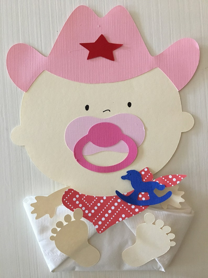 Cowgirl Baby Shower Decorations Luncheon Napkins Baby Shower Favors