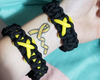 Sarcoma Paracord Bracelet <<made to order>>