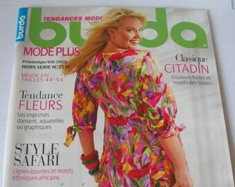 Catalog magazine spring/summer special Burda sizes 44/54