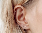 Minimal Earrings | Simple Studs | Silver Stud Earrings | Post earrings | Delicate Jewellery | Small Stud Earrings | Gift For Girl |