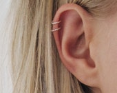 Helix Hoops, Very Small Cartilage Hoops, Small Sterling Silver Hoops, Very Small Silver Hoops, Tiny Silver Hoops, Tiny Silver ear rings,