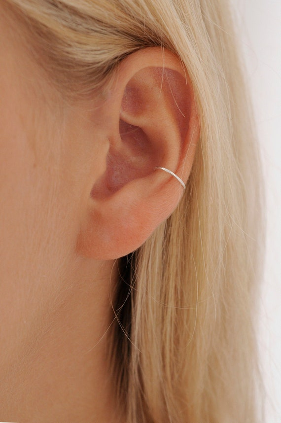 Silver Conch Piercing Gold Conch Hoop Conch Hoop Etsy