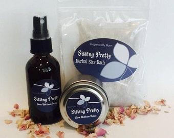 Sitting Pretty~ Mini Sore Bottom Kit