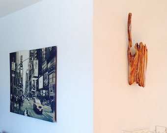 Driftwood Art, Reclaimed driftwood, wall art, natural Art, Wood Sculpture