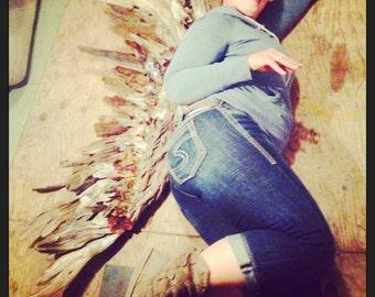 Large Driftwood Angel wing, Driftwood Angel wing, Driftwood Art, Driftwood Sculpture, Wall Art, Reclaimed Driftwood, Driftwood Wing