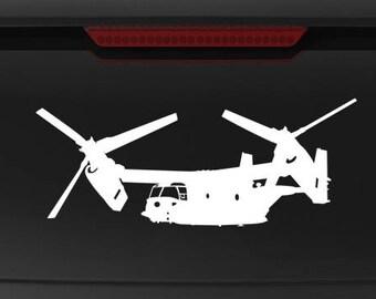 CV-22 MV-22 Osprey Transition - Vinyl Decal / Sticker