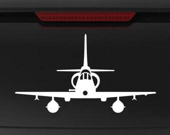 A-4M Skyhawk - Front - Vinyl Decal / Sticker