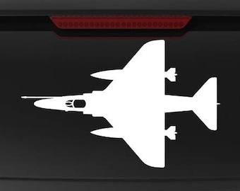 A-4 Skyhawk - TOP - Vinyl Decal / Sticker