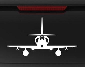 A-4 Skyhawk - Front - Vinyl Decal / Sticker