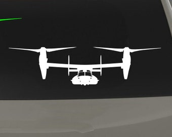 """CV-22 / MV-22 Osprey - """"VTOL"""" - Vinyl Decal / Sticker"""