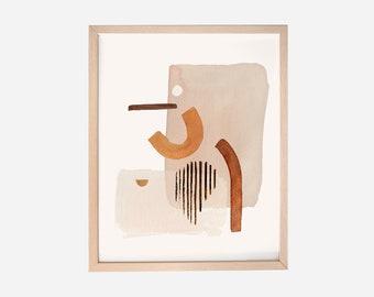 Abstract Art Print - look see