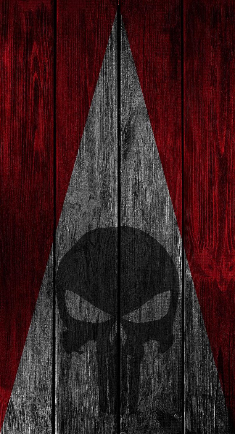 2x Punisher Wood Cornhole Board Bag Toss Wrap Set-Universal Fit patriotic USA