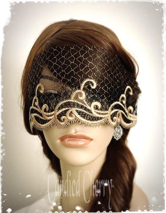 Men/'s Phantom Masque Avec Bande Masque Yeux Gris Gothique Déguisement Masquerade OPERA