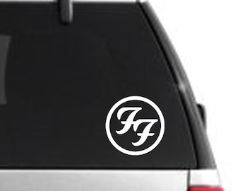 Foo Fighters Decal Etsy