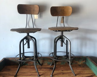 Fabulous Toledo Stool Etsy Caraccident5 Cool Chair Designs And Ideas Caraccident5Info