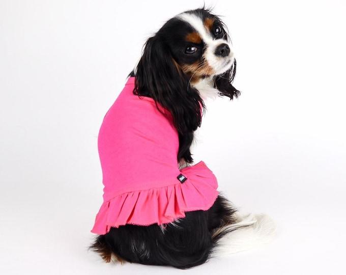 Basic Dog Dress 100% Cotton Soft Tshirt Jersey Knit Free Shipping