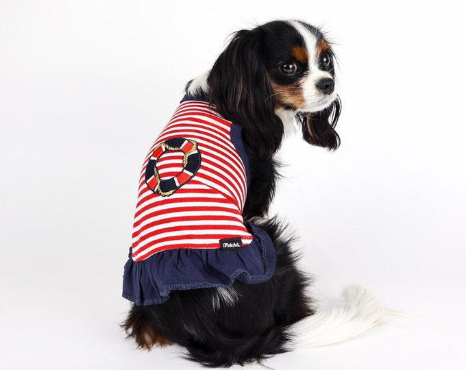 Dog Nautical Sailor Dress
