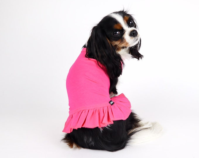 Basic Dog Dress:  Solid Dog Dress, Plain Dog Dress