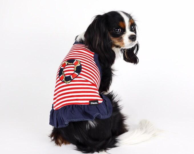 Dog Nautical Sailor Dress