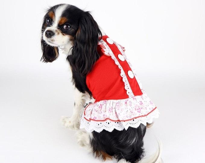 Red Dog Sun Dress