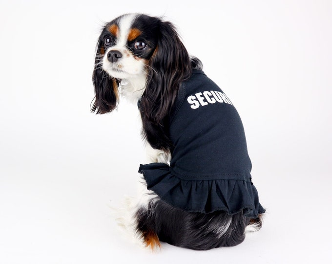 SECURITY Dog Dress Cotton 11 Colors Available Small Dog Sizes Free Shipping