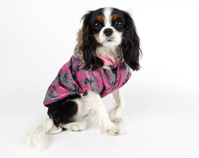 Reversible Dog Parka Jacket