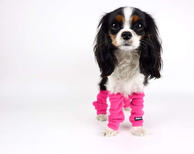 Dog Leg Warmers SET OF 2 FRONT Legs