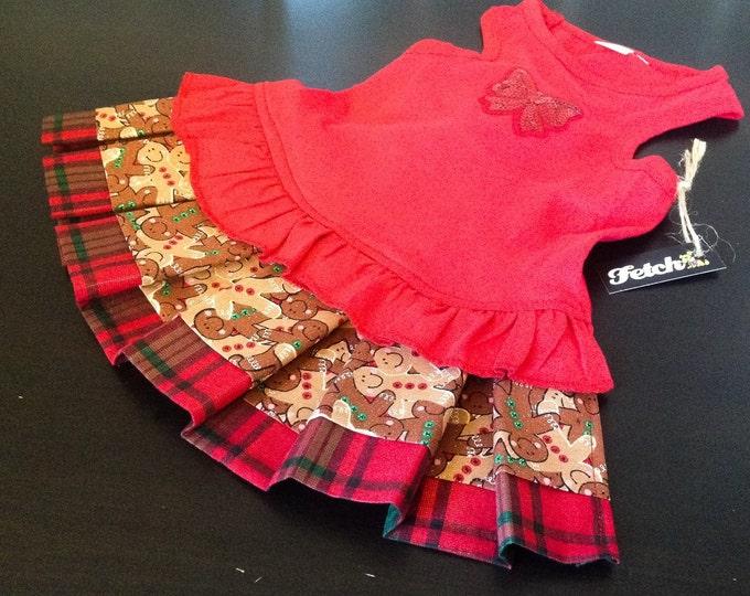 Holiday Dog Dress