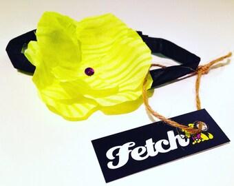 Dog Flower Necklace