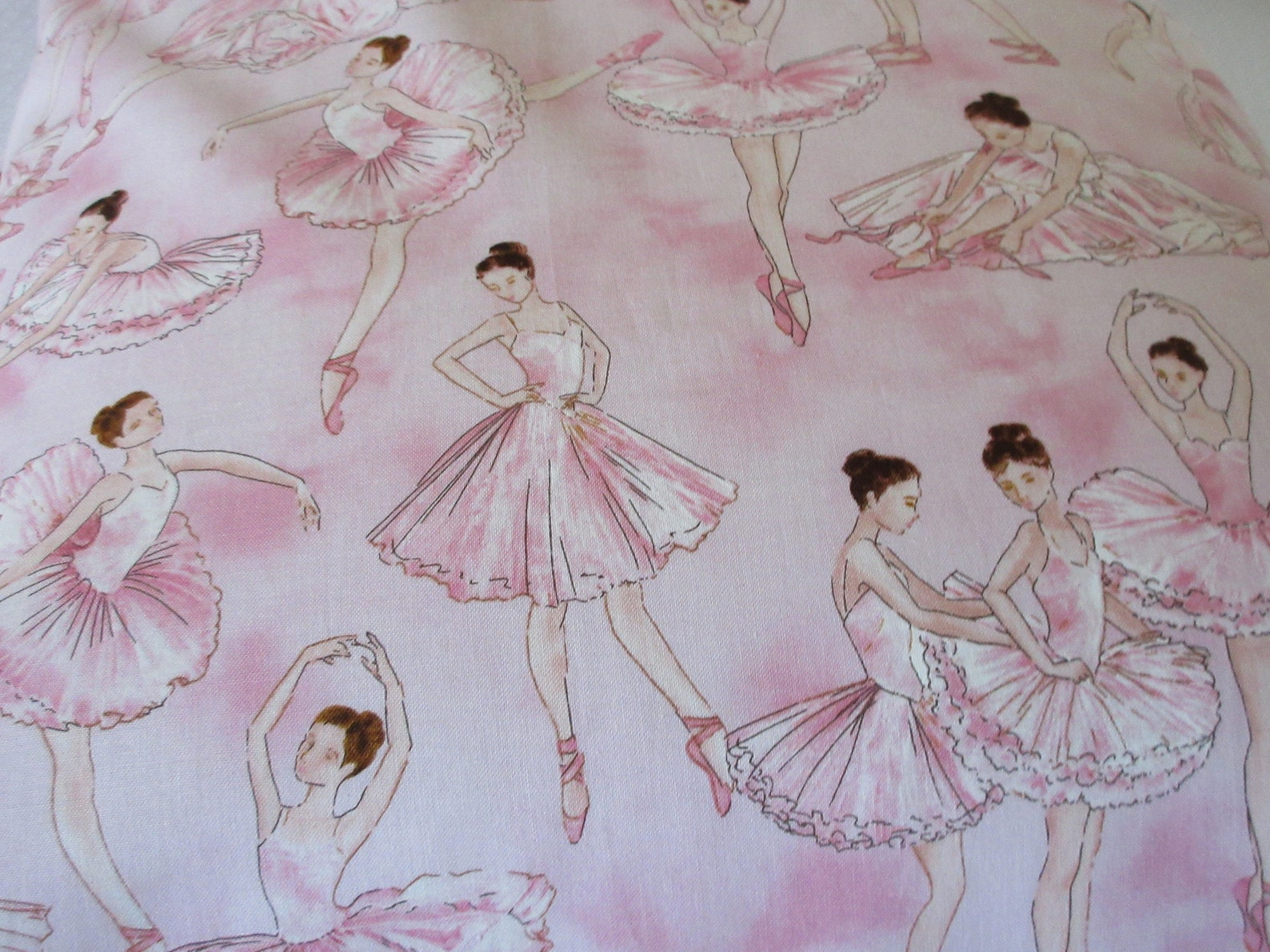ballerina pillowcases, kids who love dance, ballet lovers gift, girl's pillowcase, gifts for ballerinas