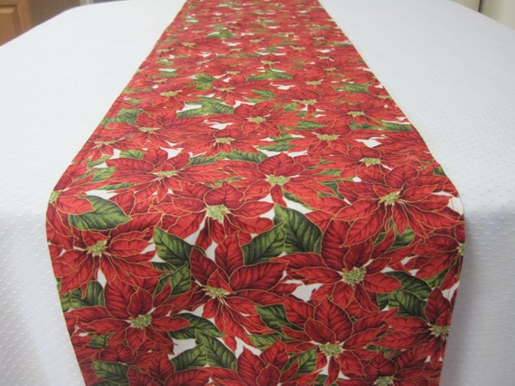 Poinsettia Table Runners Page Two