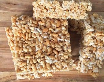 Crispy Rice Marshmallow Treats (vegan and glutenfree)