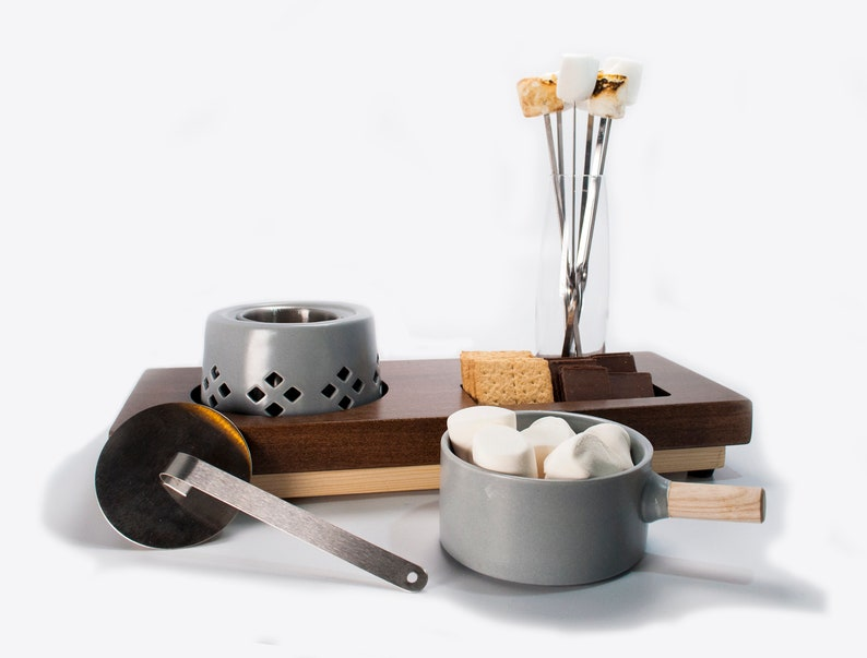 Flaming Fondue Set By Swoon Living    12 Pieces image 0